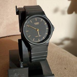 Casio black and gold (plastic)